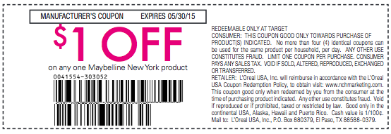 picture regarding Maybelline Coupons Printable identify Maybelline Coupon codes, Promo Codes Specials Sep-2019