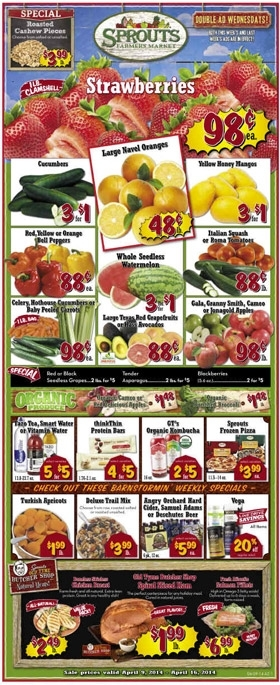 Sprouts Weekly Ad Savings.