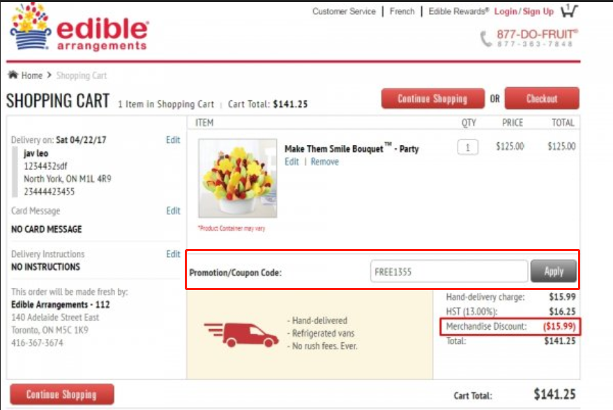 Edible Arrangements Coupons 01