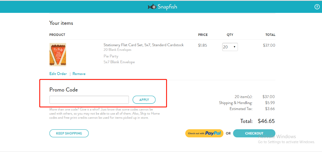 Snapfish Coupons 01