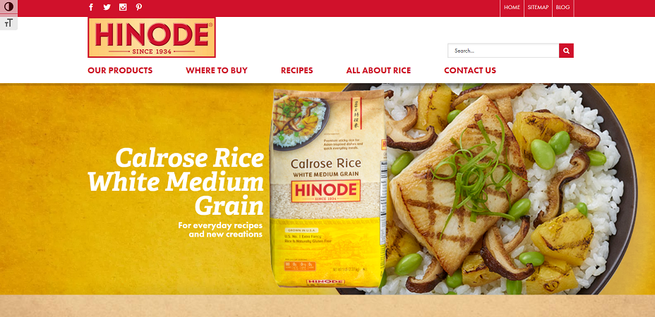 Hinode Rice Coupons