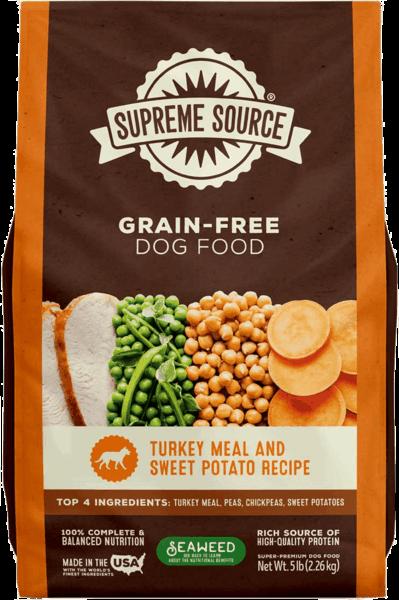 Get $2.00 back on Supreme Source Grain-Free Dog Food.